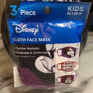 Disney's Minnie Mouse Cloth Face Masks